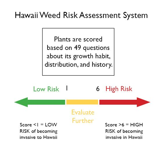 Hawaii Weed Risk Assessment Graphic